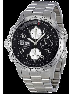 Chic Time | Montre Hamilton H77616133 Khaki X-Wind Chronographe en acier inoxydable  | Prix : 1,435.50
