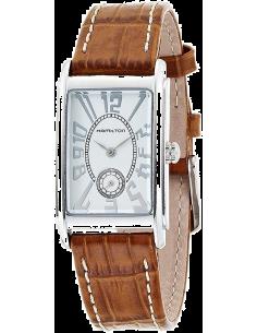 Chic Time | Montre Hamilton H11411553 American Classic Marron Cuir bracelet  | Prix : 595,00€