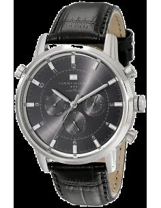 Chic Time | Montre Homme Tommy Hilfiger Harrison 1790875 Bracelet en cuir Noir  | Prix : 199,00€