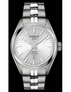 Chic Time   Montre Femme Tissot T-classic T1012104403100 Gris    Prix : 335,00€