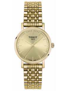 Chic Time | Montre Femme Tissot Everytime T1092103302100 Or  | Prix : 250,00€