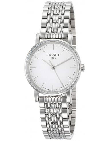 Chic Time | Montre Femme Tissot Everytime T1092101103100 Argent  | Prix : 210,00 €