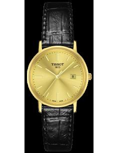 Chic Time | Montre Femme Tissot Goldrun T9222101602100 Noir  | Prix : 1,290.00