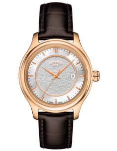 Chic Time | Montre Femme Tissot Fascination T9242107611100 Marron  | Prix : 1,650.00