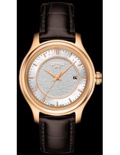 Chic Time | Montre Femme Tissot Fascination T9242107611100 Marron  | Prix : 1,650.00