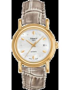 Chic Time | Montre Femme Tissot Carson T9070071610600 Gris  | Prix : 2,050.00