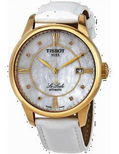 Chic Time | Montre Femme Tissot Le Locle T41545386 Blanc  | Prix : 635,00€