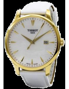 Chic Time | Montre Femme Tissot Tradition T0636103611600 Blanc  | Prix : 370,00€