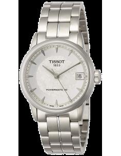 Chic Time   Montre Femme Tissot Luxury Automatic T0862071103110 Argent    Prix : 999,00€
