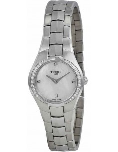 Chic Time | Montre Femme Tissot T-Round T0960096111600 Argent  | Prix : 579,00€