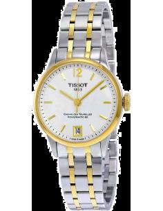 Chic Time   Montre Femme Tissot Chemin des Tourelles T0992072203700 Argent    Prix : 929,99€
