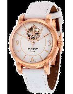 Chic Time | Montre Femme Tissot Lady Heart T0502073701704 boîtier doré rose en acier inoxydable  | Prix : 789,99€