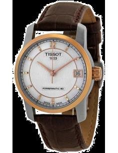 Chic Time | Montre Femme Tissot Titanium T0872075611700 Cadran motifs ondulés  | Prix : 879,99€