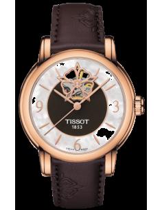 Chic Time | Montre Femme Tissot Lady Heart T0502073711704 Cadran nacré index or rose  | Prix : 859,99€