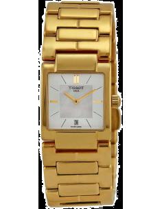 Chic Time | Montre Femme Tissot T02 T0903103311100 Bracelet et boîtier en acier doré  | Prix : 359,00€
