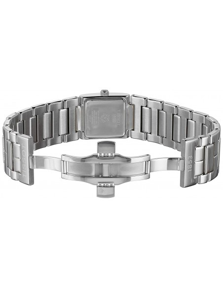 Chic Time | Montre Femme Tissot T02 T0903101111100 Bracelet argenté et cadran nacré  | Prix : 479,99€