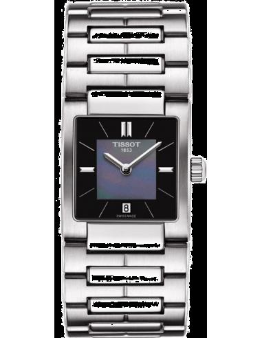 Chic Time | Montre Femme Tissot T02 T0903101112100 Bracelet en acier argenté  | Prix : 269,99€