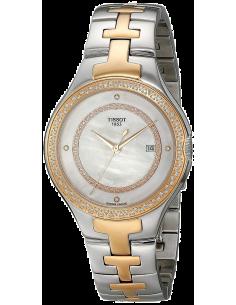 Chic Time | Montre Femme Tissot T12 T0822106211600 Bracelet en acier inoxydable bicolore  | Prix : 1,599.99