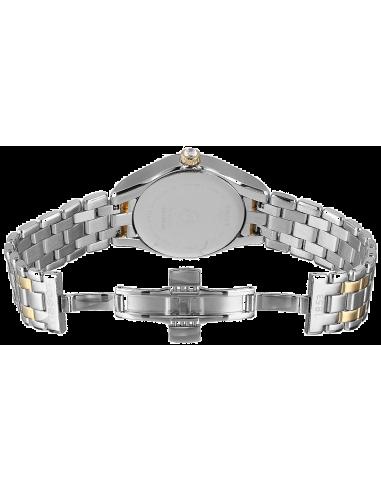 Chic Time | Montre Femme Tissot LADY T072 T0722102203800 - Bracelet en acier doré et argenté  | Prix : 349,99€