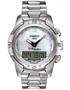 Chic Time | Montre Femme Tissot T-Touch II T0472204411600  | Prix : 949,99 €