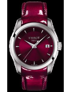 Chic Time   Montre Femme Tissot T-Classic Couturier Lady T0352101637101    Prix : 233,33€