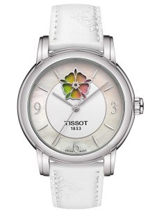 Chic Time | Montre Femme Tissot T-Lady Heart Flower Powermatic T0502071711705  | Prix : 558,33 €