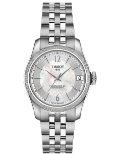 Chic Time | Montre Femme Tissot T-Classic Ballade Powermatic 80 COSC Lady T1082081111700  | Prix : 791,67€