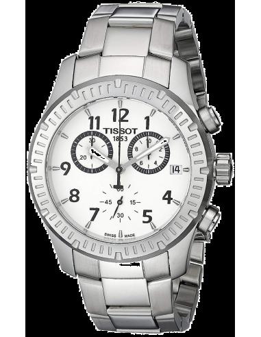 Chic Time | Montre Homme Tissot V8 T0394171103700 Argent  | Prix : 389,00€