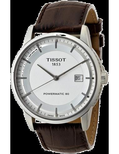 Chic Time | Montre Homme Tissot Luxury Automatic T0864071603100 Marron  | Prix : 679,99€