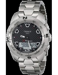 Chic Time | Montre Homme Tissot T-Touch Expert Titanium T0134204420100  | Prix : 911,20€