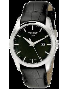 Chic Time | Montre Homme Tissot Couturier T0354101605100 Noir  | Prix : 379,00€