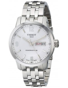 Chic Time | Montre Homme Tissot PRC 200 Automatique T0554301104700 cadran bleu  | Prix : 650,00€