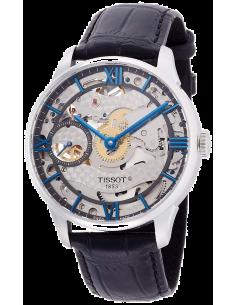 Chic Time | Montre Homme Tissot Chemin des Tourelles T0994051641800 Noir  | Prix : 1,650.00