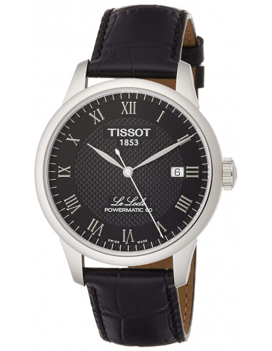 Chic Time | Montre Homme Tissot Le Locle Powermatic 80 T0064071605300 Noir  | Prix : 391,67 €