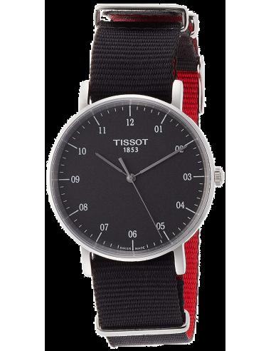 Chic Time   Montre Mixte Tissot T-classic T1094101707700 Noir    Prix : 183,33€
