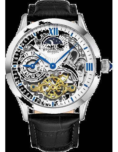 Chic Time | Montre Homme Stuhrling Original Legacy 571.33152 Noir  | Prix : 287,20€