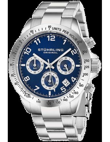 Chic Time | Montre Homme Stuhrling Original Monaco 665B.02 Argent  | Prix : 281,40€