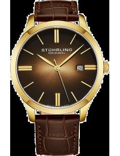 Chic Time | Montre Homme Stuhrling Original Symphony 490.3335K31 Marron  | Prix : 139,30€