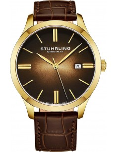 Chic Time | Montre Homme Stuhrling Original Symphony 490.3335K31 Marron  | Prix : 139,30 €
