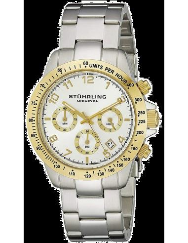 Chic Time | Montre Homme Stuhrling Original Monaco 665B.03 Argent  | Prix : 161,40€