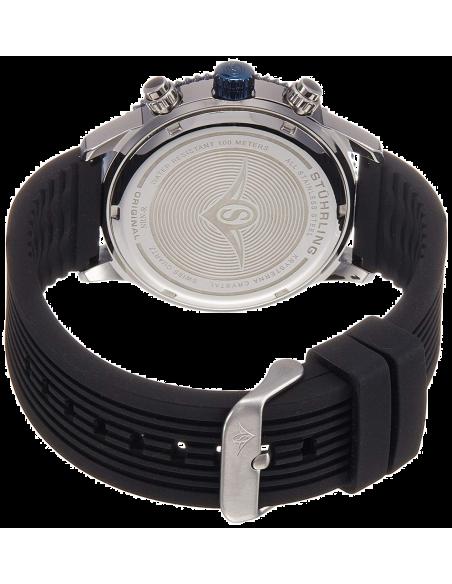 Chic Time | Montre Homme Stuhrling Original Monaco 858R.01 Noir  | Prix : 161,40€
