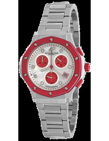 Chic Time   Montre Femme Stuhrling Original Monaco 180.121147 Argent    Prix : 209,40€