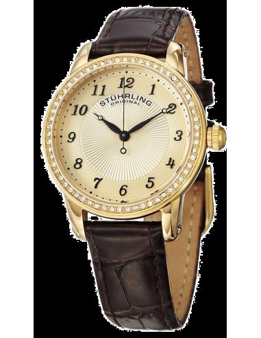 Chic Time | Montre Femme Stuhrling Original Symphony 651.02 Marron  | Prix : 168,35€