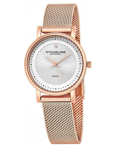 Chic Time | Montre Femme Stuhrling Original Vogue 734LM.05 Or Rose  | Prix : 129,35 €