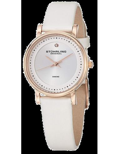 Chic Time | Montre Femme Stuhrling Original Symphony 734LS2.SET.01 Blanc  | Prix : 119,40€