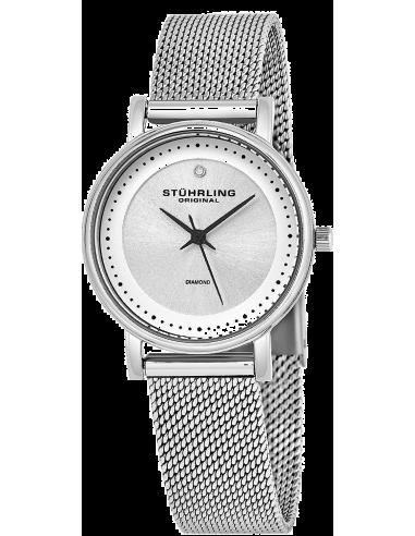 Chic Time | Montre Femme Stuhrling Original Vogue 734LM.01 Argent  | Prix : 132,30€