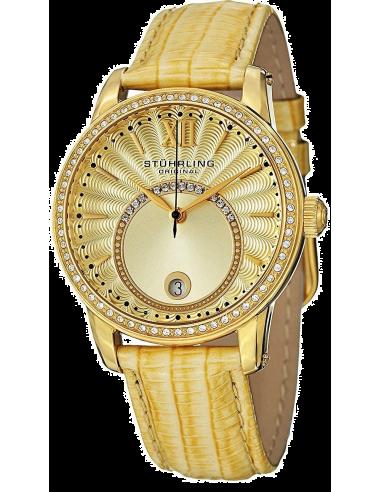 Chic Time | Montre Femme Stuhrling Original Vogue 544.1135A15 Jaune  | Prix : 197,40€