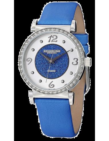 Chic Time | Montre Femme Stuhrling Original Symphony 711.02 Bleu  | Prix : 148,85€