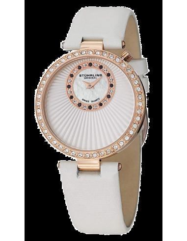 Chic Time | Montre Femme Stuhrling Original Vogue 597.04 Blanc  | Prix : 185,40€