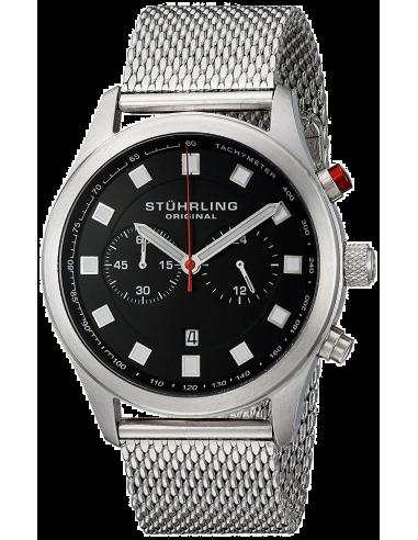 Chic Time   Montre Homme Stuhrling Original Monaco 562.33111 Argent    Prix : 181,30€